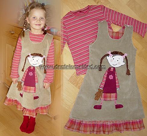2089005169 c5c551285c cinali modelli kız çocuğu kıyafeti
