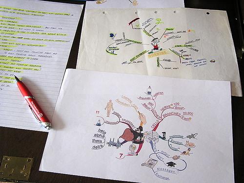 Mapas conceptuales por sirwiseowl en Flickr