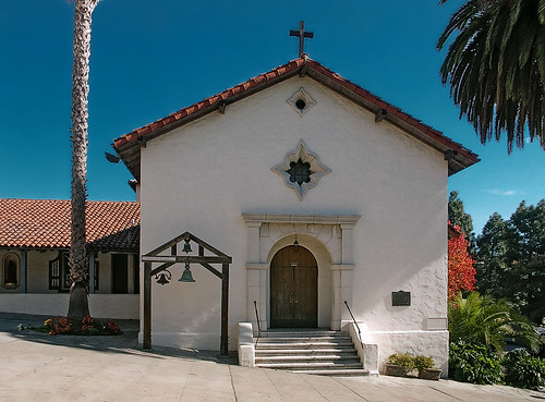 Mission San Rafael Arcangel, in San Rafael, California, USA