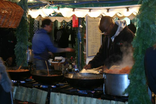 London - Covent Garden Hot Food