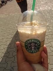 Frapuccino Caramel @ Playa del Carmen