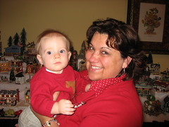 Ian with his Aunt Susan