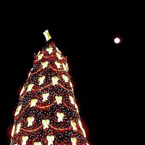 The tree with the Moon and Mars