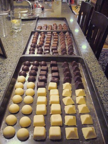 Finished Chocolates