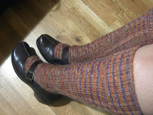 Red Dwarf Knee Socks (5)