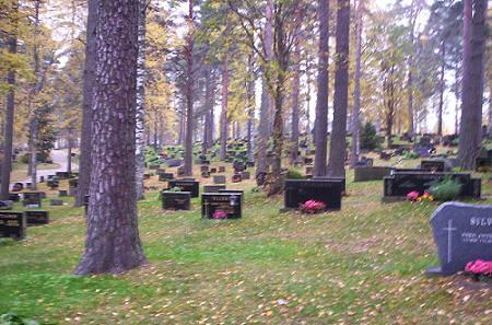 Cementerio en Kerimäki
