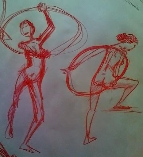 gesture drawing 2008 3