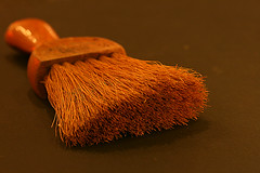 IMG_6639 (Five eyes) Tags: wood brown macro texture kitchen closeup small brush fabric everyday bristles 6639