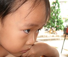 Anger ([Jongky]) Tags: boy cute children indonesia nice eyes afternoon son anger angry bandung destructive jealousy cruel