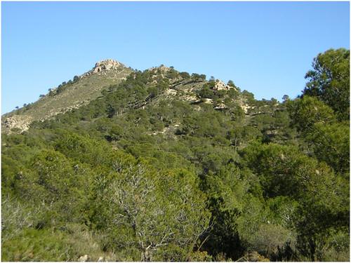 Sierra del Caballo, cima