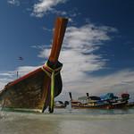 Thailand Beach Longtail Boat