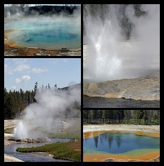 Black Sand Basin - Yellowstone National Park (Dave Stiles) Tags: yellowstonenationalpark yellowstone geyser geothermal stiles blacksandbasin yellowstonelandscape