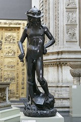 Plaster Cast David after bonze original by Donatello.