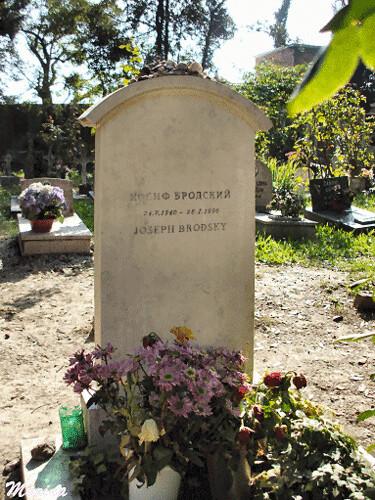 Josef Brodky´s grave2