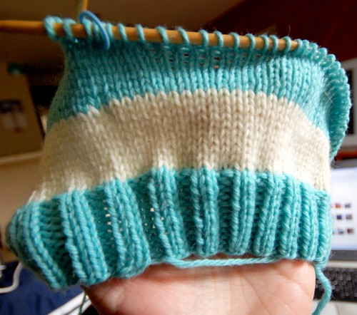 tersek: knitting hats on circular needles