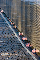 Flags at the Wall (BACHarbin) Tags: people usa monument dead sadness washingtondc dc washington districtofcolumbia quiet personal military bricks honor flags photoblog fallen nationalmall granite soldiers remembered thewall veterans inmemoriam sacrifice vietnamveteransmemorial memorials oldglory valor inmemoryof usaflags submittedtophotoshelter nationalmallandmemorialparks