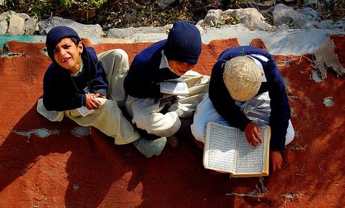 Quran Class at Pir Sohawa Mosque, Pakistan