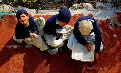 Quran Class at Pir Sohawa Mosque, Pakistan (friend_faraway *) Tags: pakistan male boys kids recital mosque class read masjid quran islamabad koran blueribbonwinner margallahills pirsohawa 5photosaday anawesomeshot diamondclassphotographer flickrdiamond  fotogezgin