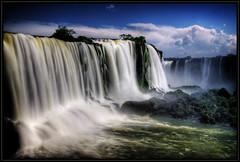 Daylight (Kaj Bjurman) Tags: blue brazil sky water eos day falls waterfalls cataratas iguazu hdr kaj 2007 cs3 photomatix 40d bjurman