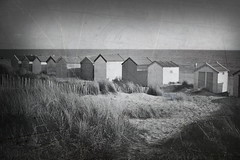 Beach Huts, Old Pic Style