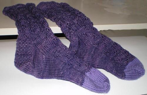Lupine socks finis