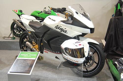 modifikasi kawasaki ninja 250R, modifikasi ala motogp