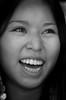 Waynette (Maya_kz) Tags: portrait blackandwhite bw girl nativeamerican shoshone iloveyoursmile streetphotographyclass