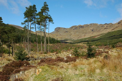 Kirkton Glen and Meall an Fhoidhain