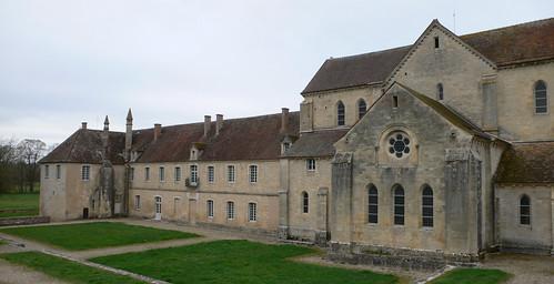 Abbaye de Noirlac (Cher, France) by Denis Trente-Huittessan.