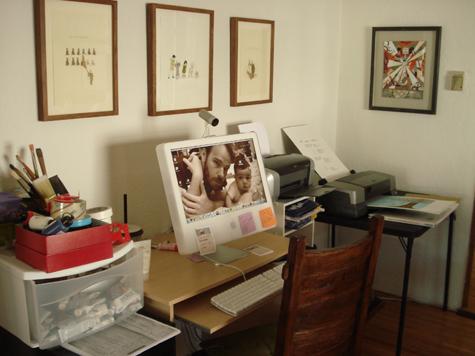 MOSS studio_computer_printers