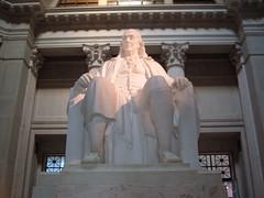 Ben Franklin Statue Philadelphia Pennsylvania