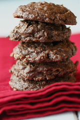 cheryl's double-chocolate coconut cookies
