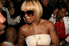 mary j blige party