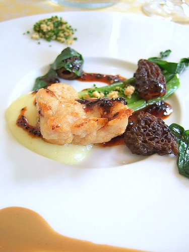 sweetbreads and morels 2, Foliage