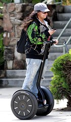 Exclusive: Raven Symone Riding Her Segway