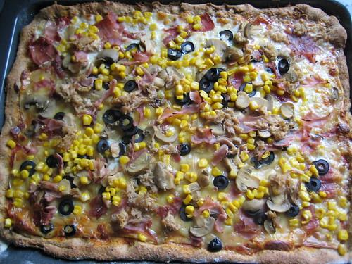 mmmm... pizza!