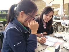 ANN陪著我們穿梭於倫敦相關信託組織
