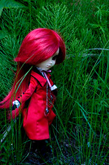 a walk in the woods (Nareshe) Tags: laila pullips grell
