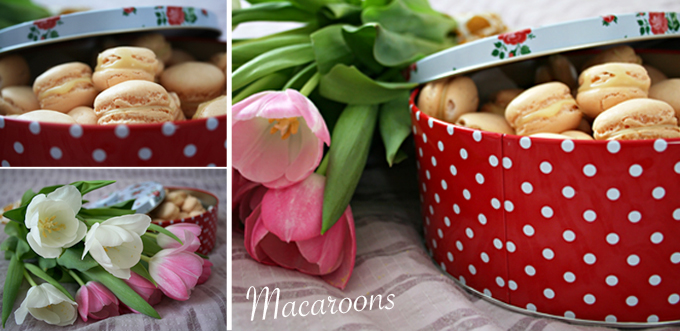 Söta ljuvliga Macaroons (macaron)