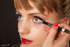 GUIDE SAMPLE IMAGE (Mobile Makeover) Tags: beauty look video eyes photoshoot makeup foundation mascara tutorial