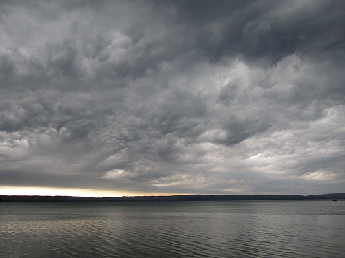 gathering storm II by John Hoagland