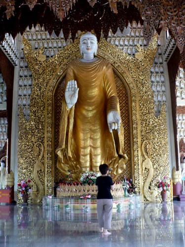 burmese-temple-standing buddha