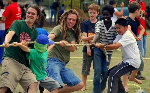 Brasileiro, Australiano, Africano, Chinês, Irlandês, Inglês. Todos unidos por uma única Austrália, que os recebeu como filhos da terra.