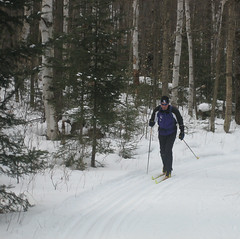 XC Skiing in Algonquin Park, Ontario, Winter 2007