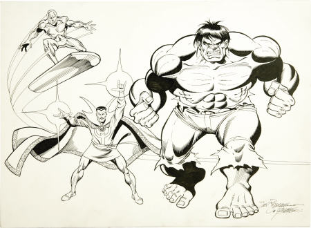 defenders by perez and buscema