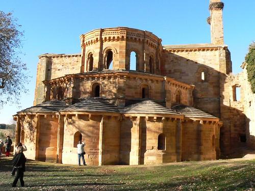 ábside de la iglesia de Moreruela
