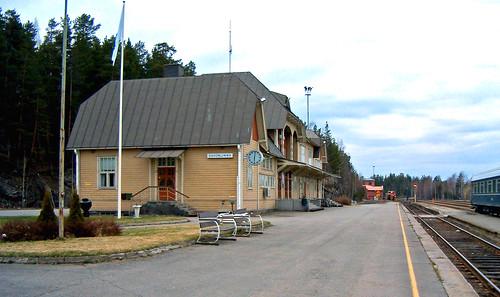 HPIM2740. Savonlinnan rautatieasema