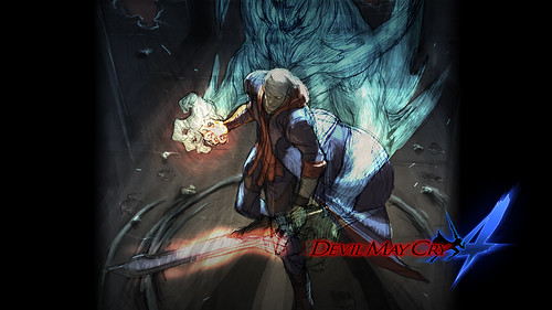 wallpaper devil may cry 4. quot;Wallpaper featuring DMC4#39;s