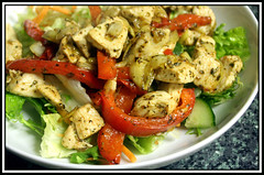Stir Fried Chicken Salad