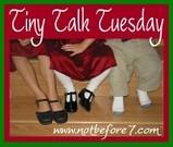 tiny holiday talk